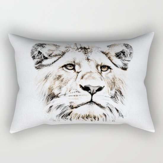 LION 4 Rectangular Pillow