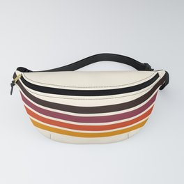 Retro Racing Stripes Fanny Pack