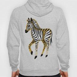 Gold Zebra Hoody