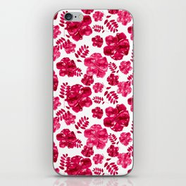 Pink Poppies iPhone Skin