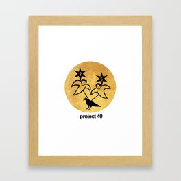 Project 40 Framed Art Print