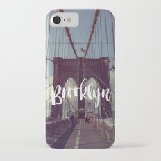 Brooklyn Bridge Photography and Calligraphy Slim Case iPhone 7