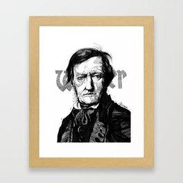 Wagner Framed Art Print