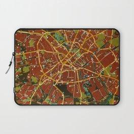 Minsk colorful map Laptop Sleeve