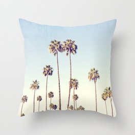 LA Palms Throw Pillow