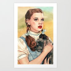 I Don't Think We're In Kansas Anymore Art Print