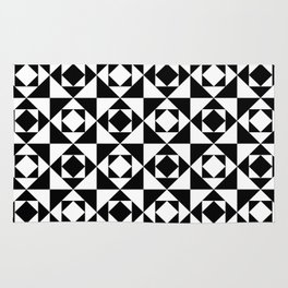 Squares in Squares Rug