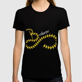 Cute & Behave Tshirt Design Behave T-shirt