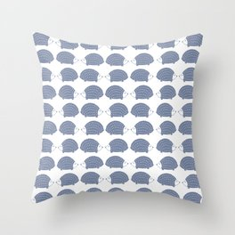 Hedgehogs Throw Pillow
