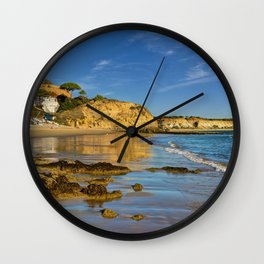 Olhos d'Agua in winter, Portugal, Wall Clock