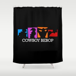 Space Enforcer Shower Curtain