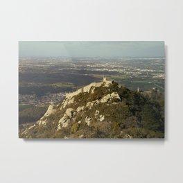 Moorish Castle at Sintra, 2 Metal Print