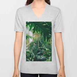Greenery Jungle (Color) Unisex V-Neck