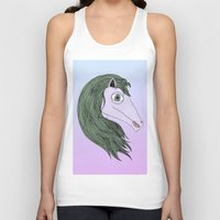 my little pony Tank Tops featuring My Little Pony by Josefina F. Vigó