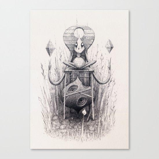 Owl Chair Canvas Print