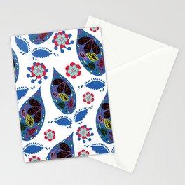 Paisley pattern #4W Stationery Cards
