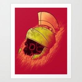 Martian Artifact Art Print