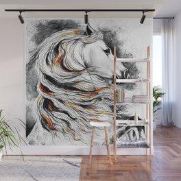 Dark Beauty Horse Wall Mural