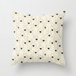 it's borg! Throw Pillow