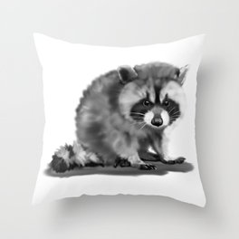 trashers Throw Pillow