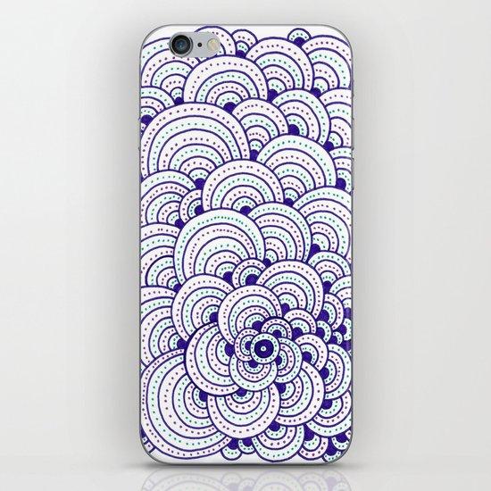 Dot Cluster iPhone & iPod Skin