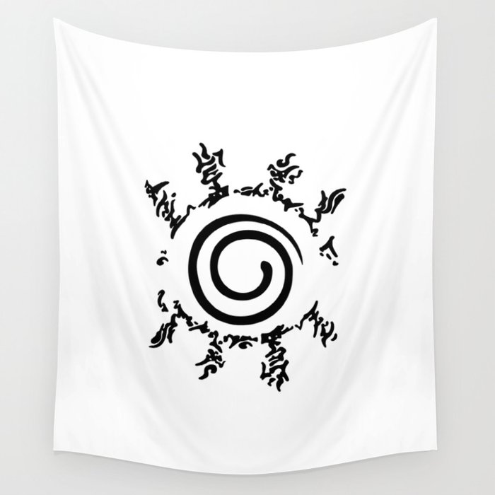 Naruto's Ninja Way Wall Tapestry