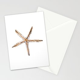 Blonde starfish Stationery Cards
