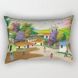 Lolito's Village #1 Rectangular Pillow