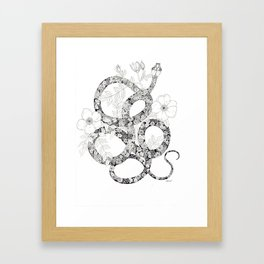 La Serpiente Framed Art Print