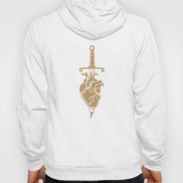 Sword and Heart Ink Hoody