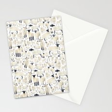 Watercolour Sheep Stationery Cards