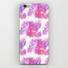 Watercolour Flowers iPhone & iPod Skin