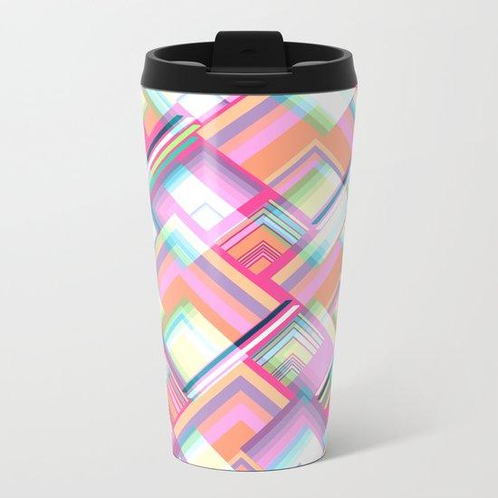 Spectacular geometry Metal Travel Mug
