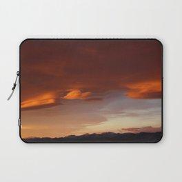 Tangerine Sky Laptop Sleeve