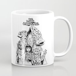 The Dark Crystal - Gelflings, Skeksis, and Mystics Coffee Mug