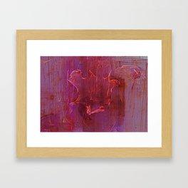 Wine Stains Framed Art Print