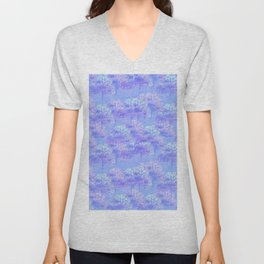 Purple Forest Unisex V-Neck