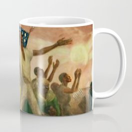 "African American Classical Masterpiece ""Emancipation"" by John Steuart Curry Coffee Mug"