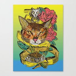Cat-too 1 Canvas Print