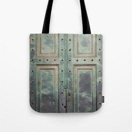 Old Roman Door Tote Bag