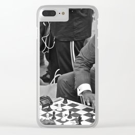 The Showdown (Part 2: NYC) Clear iPhone Case