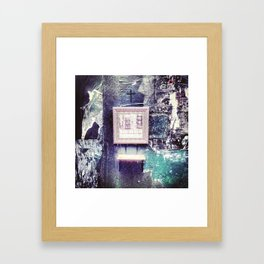 No Reflection Framed Art Print
