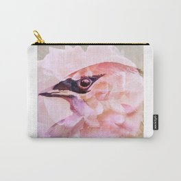 Waxwing Rose Carry-All Pouch