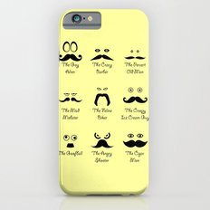 Eyes and Facial Hair iPhone 6s Slim Case