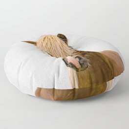 Horse - Colorful Floor Pillow