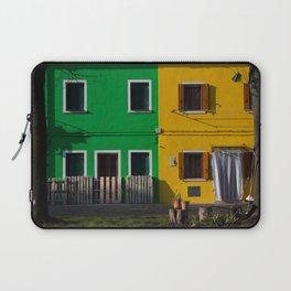 Colored Burano Laptop Sleeve