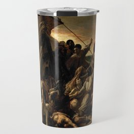 Gericault – Le radeau de la méduse – the raft of the medusa – La balsa de la medusa Travel Mug