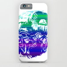 Monkeys in living Color iPhone 6s Slim Case