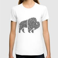 buffalo T-shirts featuring Buffalo by Aleishajune
