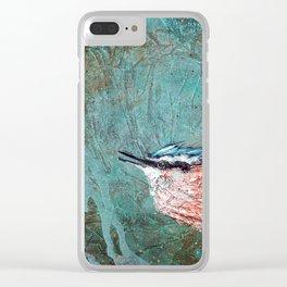 Nuthatch Creek II Clear iPhone Case